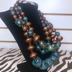 ✨Aztec three tier necklace 💕